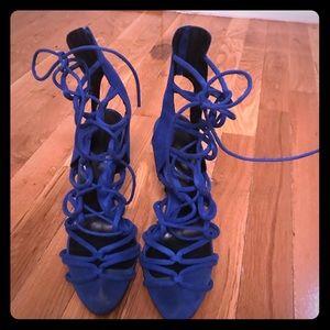 Zara size 40 caged sandals.